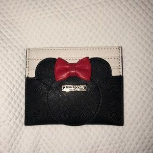 Kate spade Minnie Mouse card case wallet